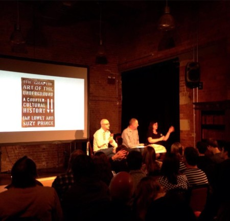 Presenting a launch night lecture at Manchester's Anthony Burgess Institute